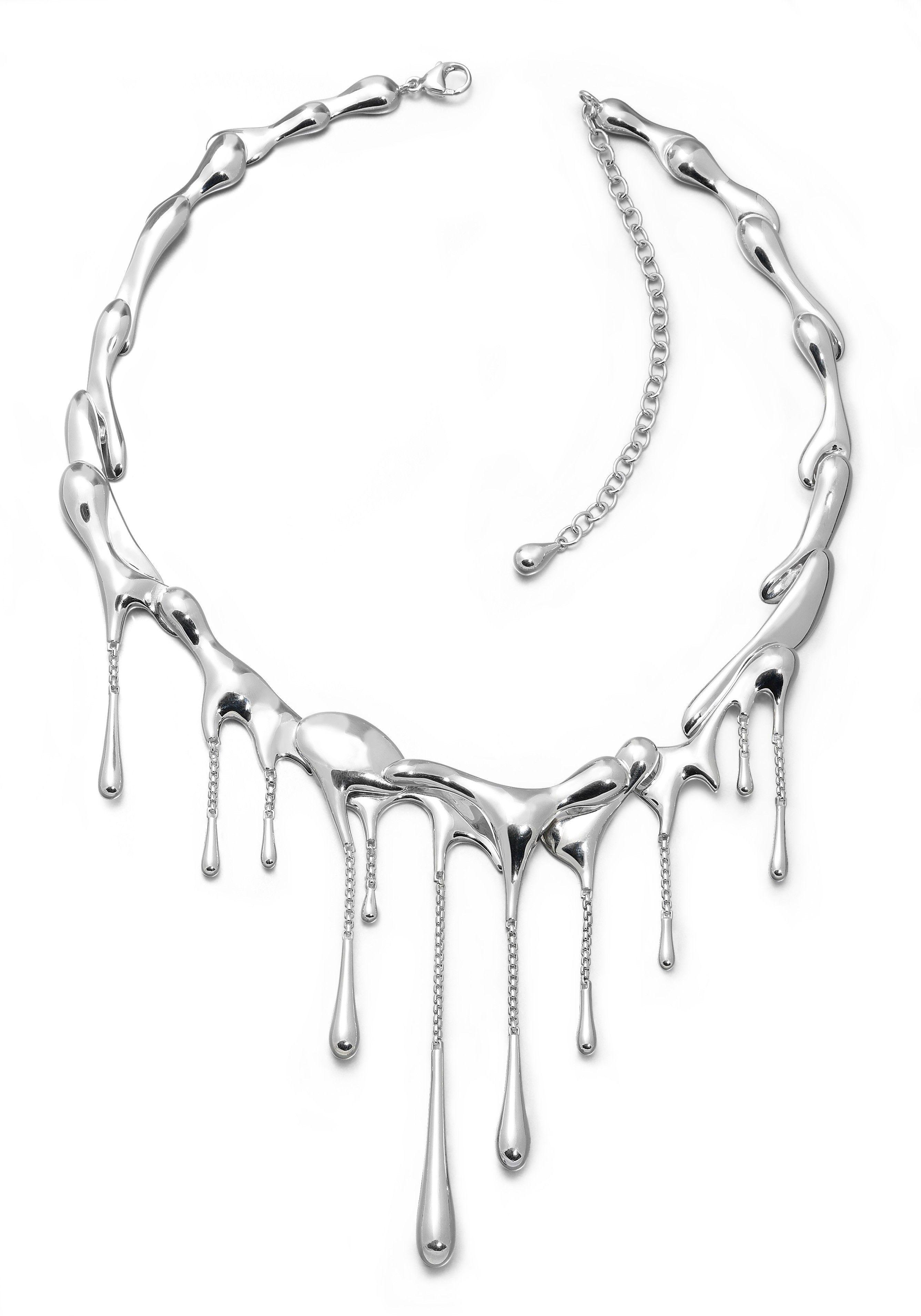 Lucy Quartermaine Waterfall Choker Necklace lF3NHd