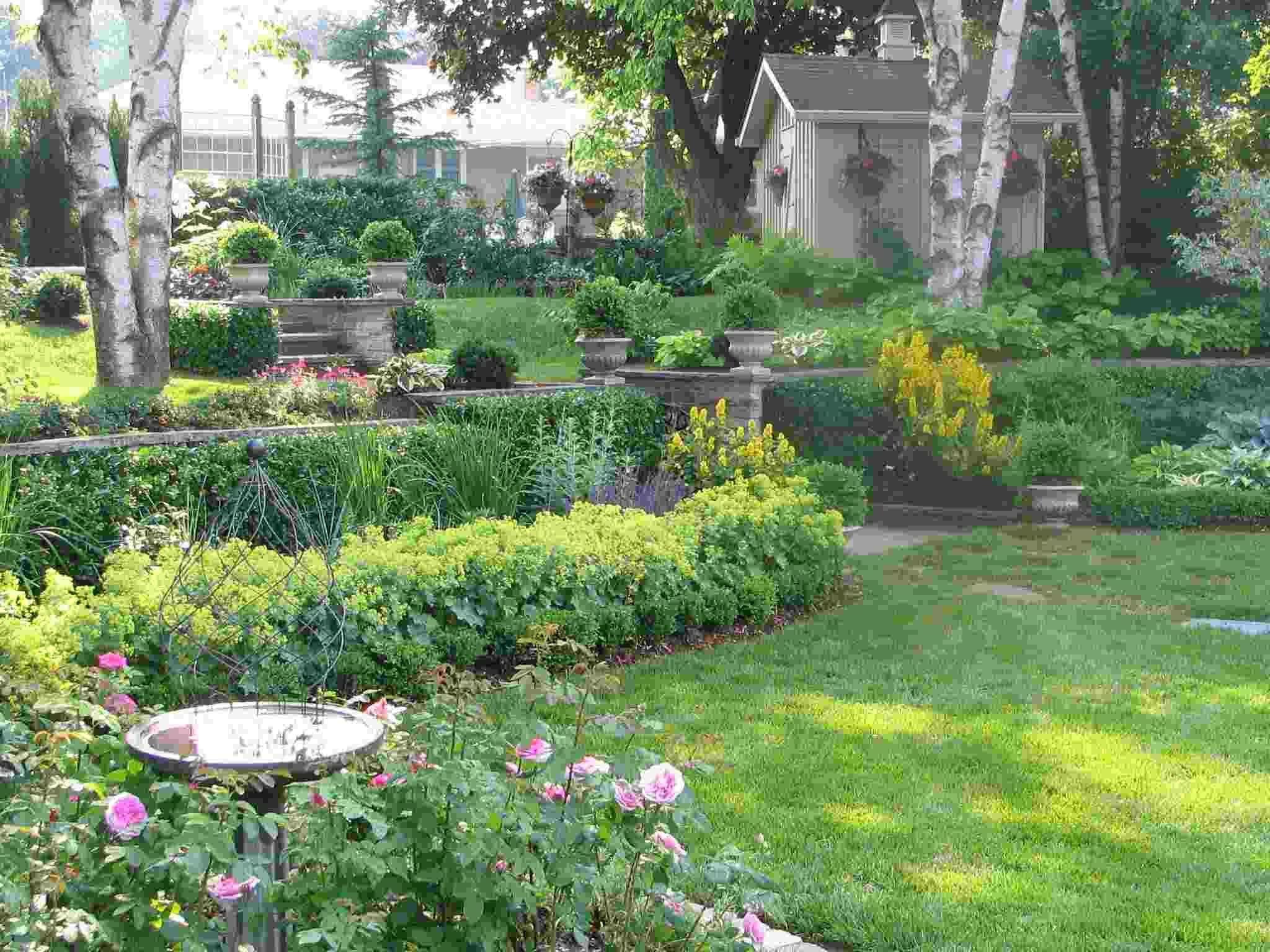 Flower Garden Plans Zone 5 | Композиции цветников ...