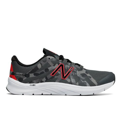 New Balance 811v2 Graphic Trainer Women's Cross-Training Shoes - Black/Red/Grey (WX811CG2)