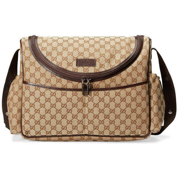 b1122d05ef3 Gucci Original Gg Diaper Bag (1 400 AUD) ❤ liked on Polyvore featuring bags