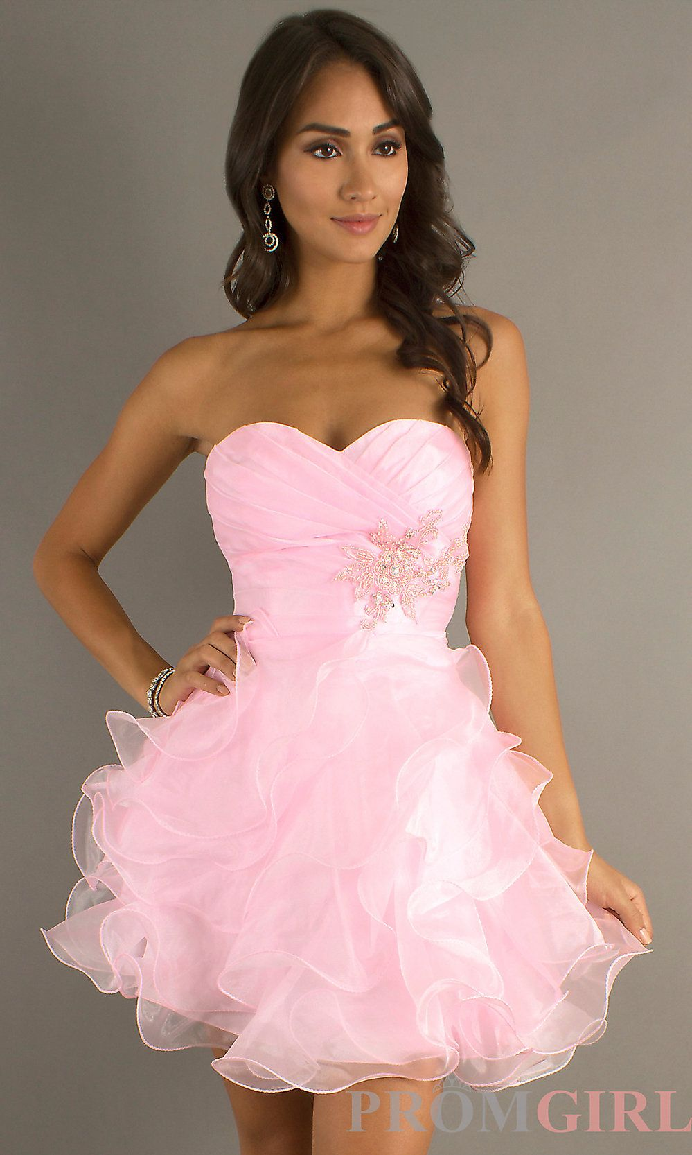 Lightpinkdressalag grad dresses pinterest