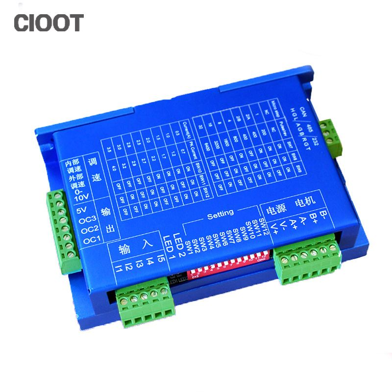 Free Shipping CNC 4A Integrated Stepper Motor Controller