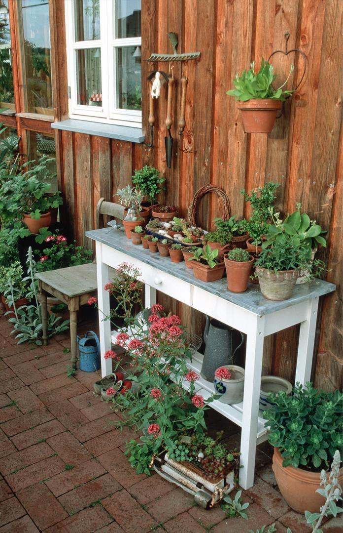 10 Lösungen für schwierige Gartenecken Rustikaler garten