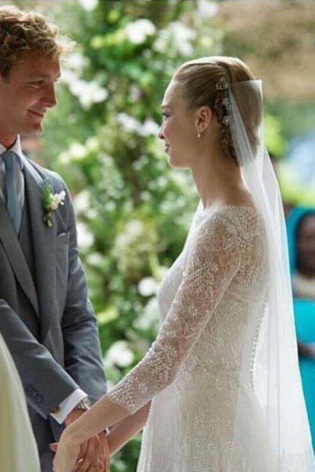 Beatrice Borromeo Wears Three More Wedding Dresses In One Weekend Armani Wedding Dress Wedding Gowns Wedding Dresses