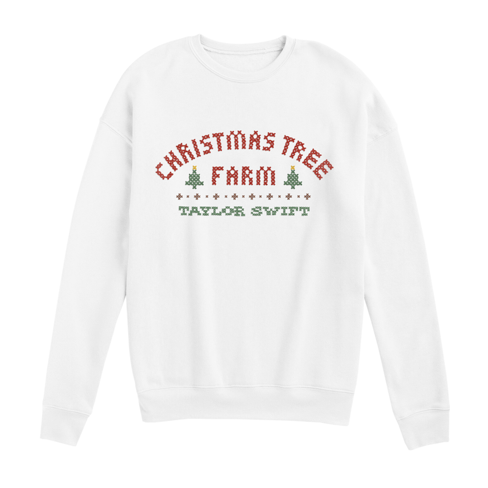 Christmas Tree Farm Pullover Taylor Swift Official Store Taylor Swift Merchandise Christmas Tree Farm Tree Farms