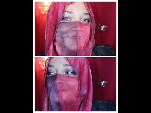 Photo of Sheer niqab style tutorial by request