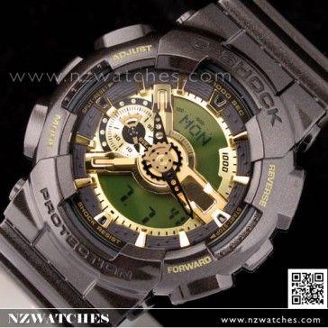 Casio G-Shock Brown Gold 200M World Time Watch GA-110BR-5A 77370bf23b20