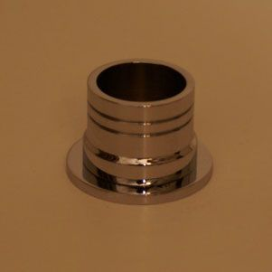 modern 2 piece shower rod flange add a modern touch to your shower rod with this