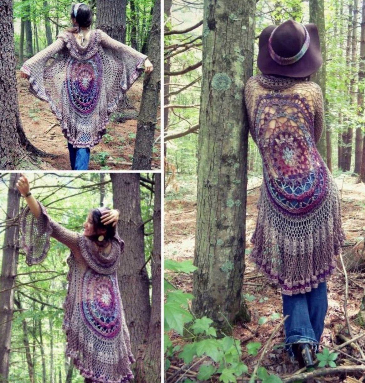Crochet Jacket Lots Of Gorgeous Free Patterns | Crochet ...