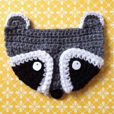 Mr.Raccoon - Inspiration for the Badger pin