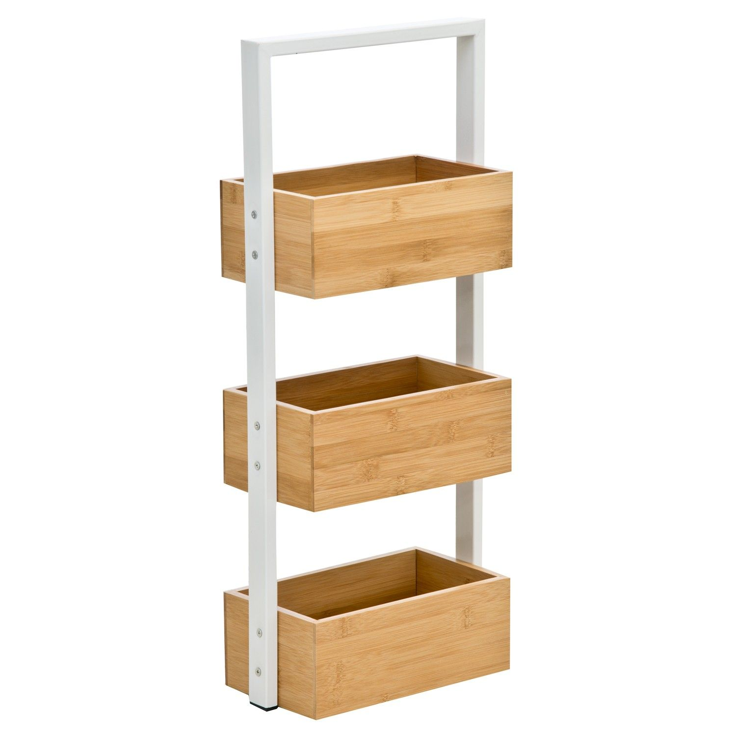 Casa Bamboo 3 Tier Bathroom Storage