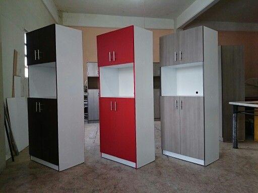 Mueble para microondas muebles pinterest microondas for Muebles para cocina df