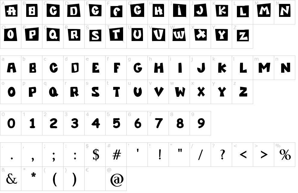 Characters Pocoyo Tv Font Fonts Monster Font 1001 Free Fonts