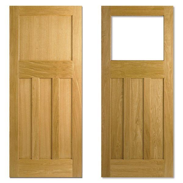Lpd Dx 1930s Style Four Panel White Oak Interior Internal Door Not Reclaimed Ebay Craftsman Interior Doors White Paneling Internal Doors