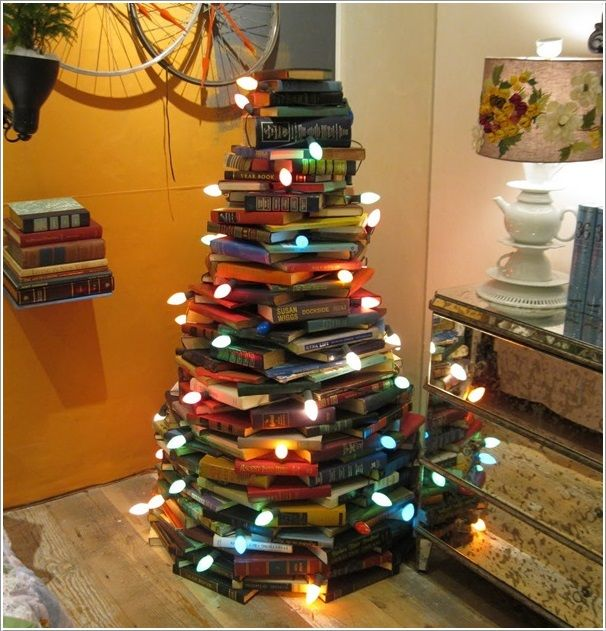 15 Unique and Creative Christmas Tree Ideas Creative Pinterest