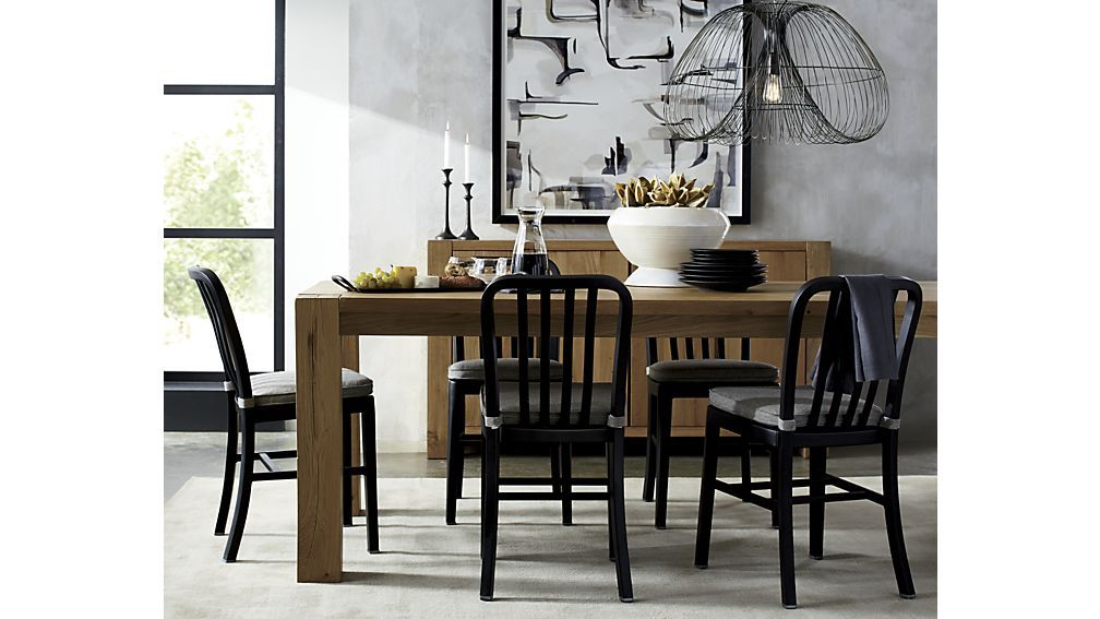 Bigsur90 5indiningtablejl17 Black Dining Chairs Dining Chairs Kitchen Interior