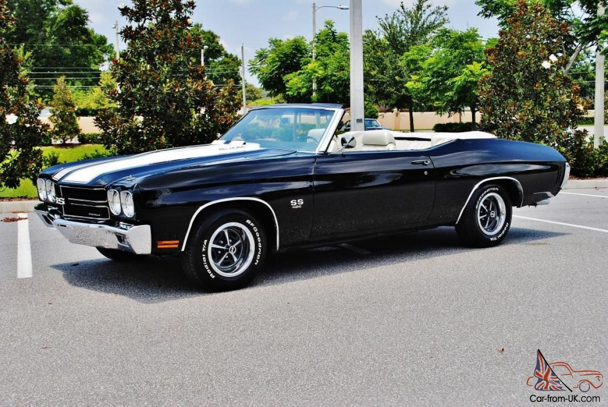 70 Chevelle Ss 454 70 Chevelle Ss Real 454 Ls5 4 Spd Convertible