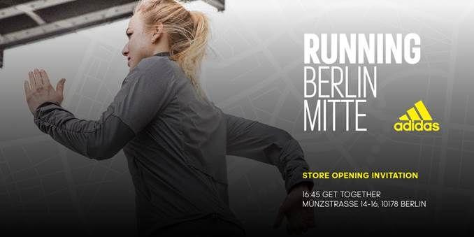 adidas Running Store Berlin Mitte eröffnet | Events | Adidas