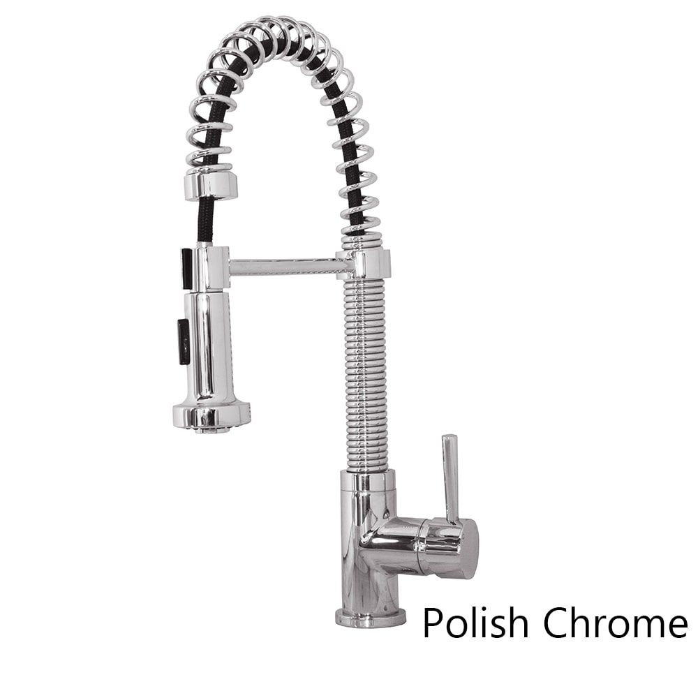 virtu usa arvia psk-1008 single handle kitchen faucet in