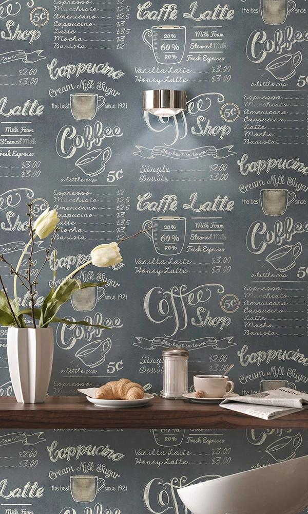 Cream Cafe Chalkboard R6181 In 2020 Cafe Chalkboard Shop