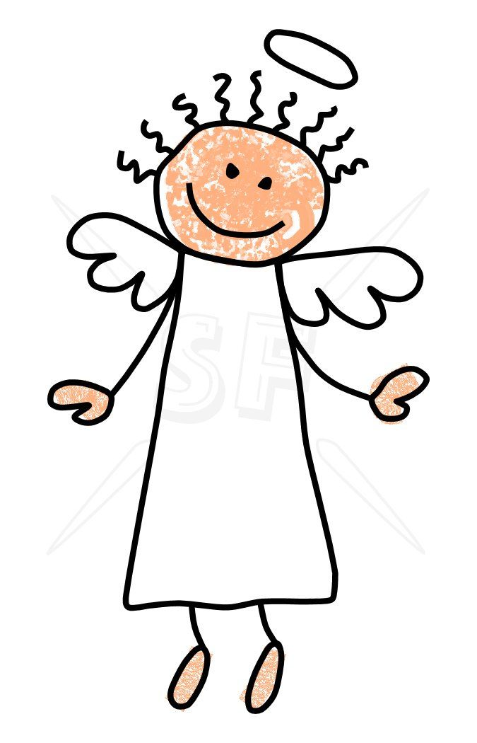 angel images clip art cliparts co porque en espa ol tambien rh pinterest co uk stick family clipart black and white
