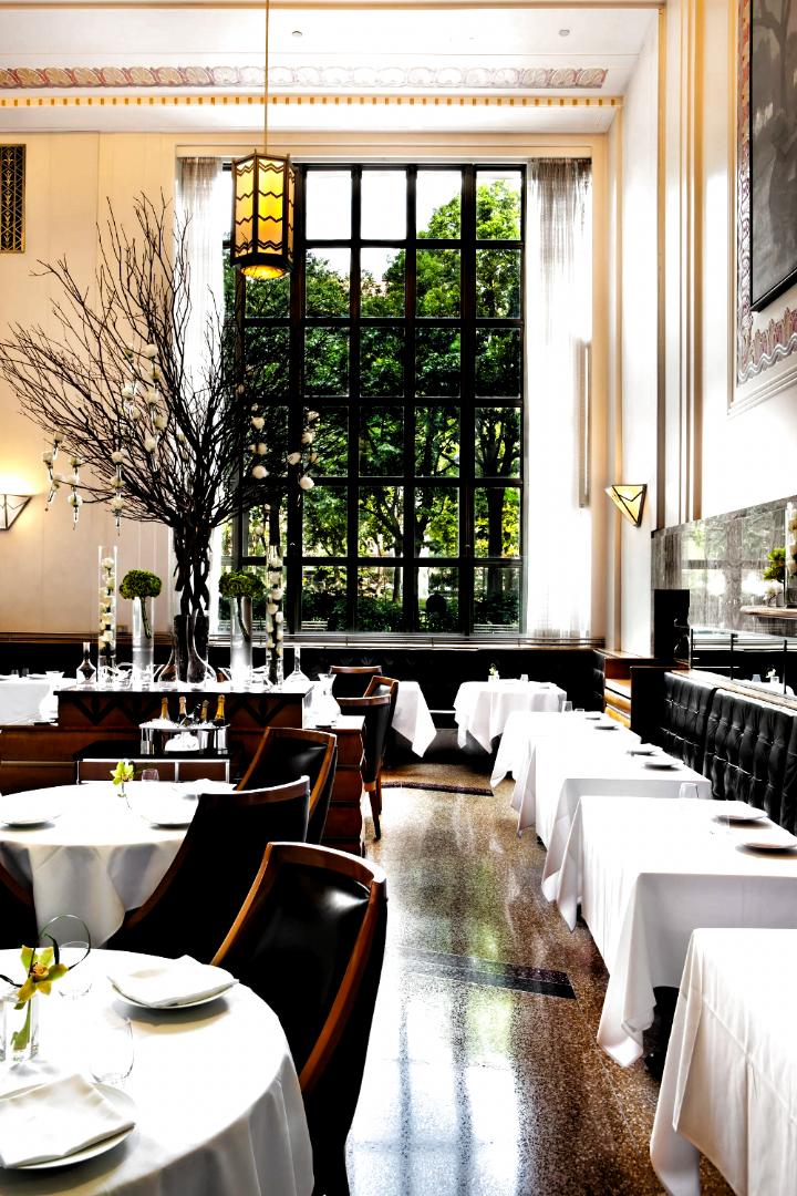 Most Stylish Restaurants in New York   Architectural Digest #Luxury