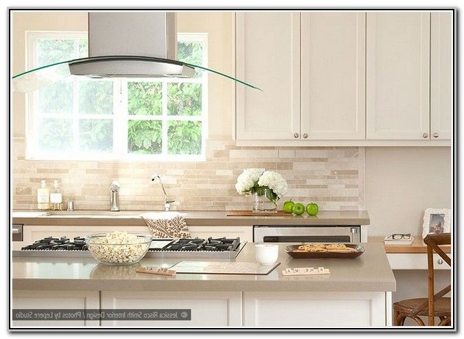 Off White Kitchen Backsplash Room Decor Designs Off White Kitchens White Tile Backsplash White Kitchen Backsplash