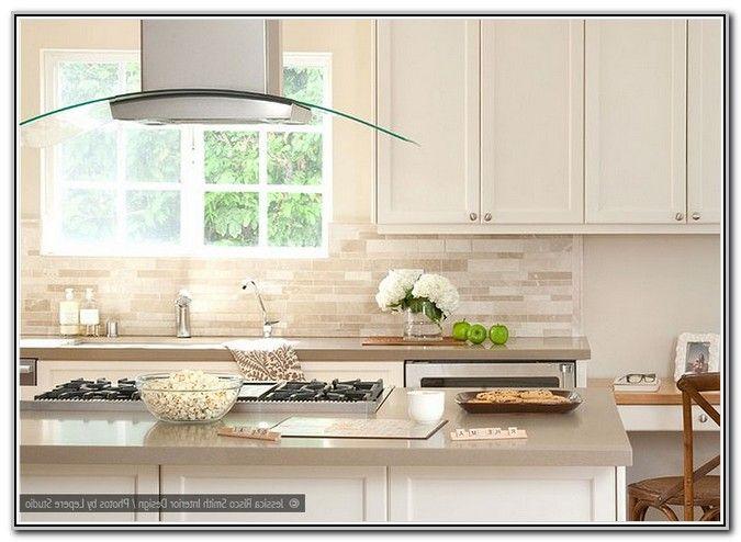 Download Wallpaper Backsplash For Off White Kitchen Cabinets