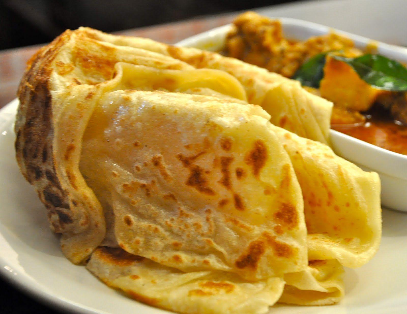 Caribbean Food - Chicken Roti