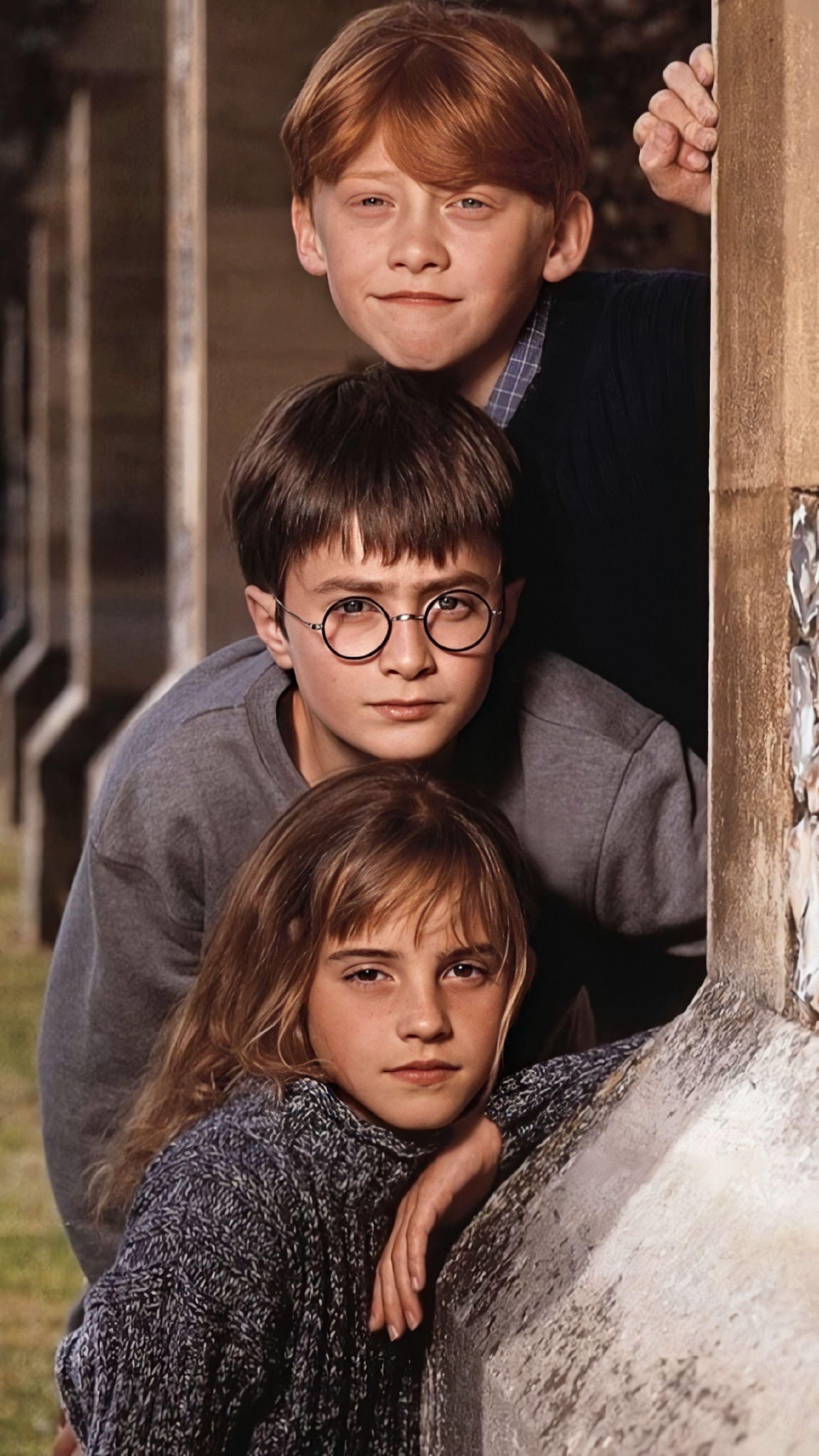 Ron Weasley, Harry Potter and Hermonie Granger. [3840 x 2160]