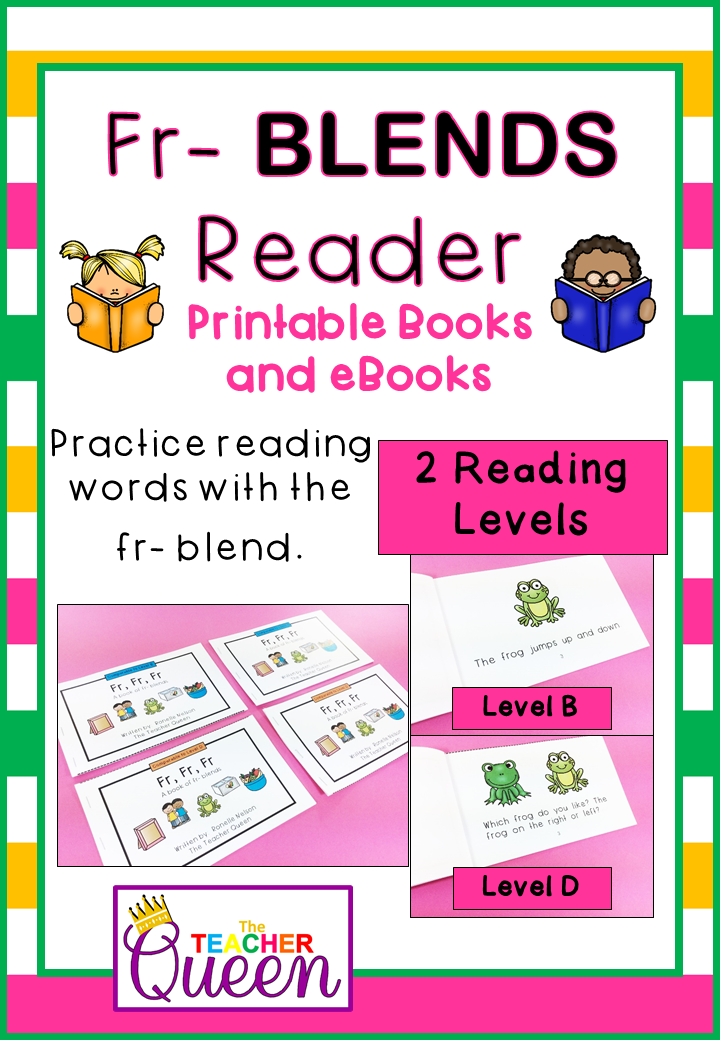 Fr Blend Readers Levels B And D Printable Books And Ebooks