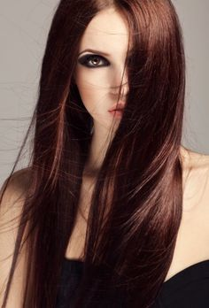 Rich Hair Color On Pinterest Cherry Brown Hair Butterscotch | Up ...