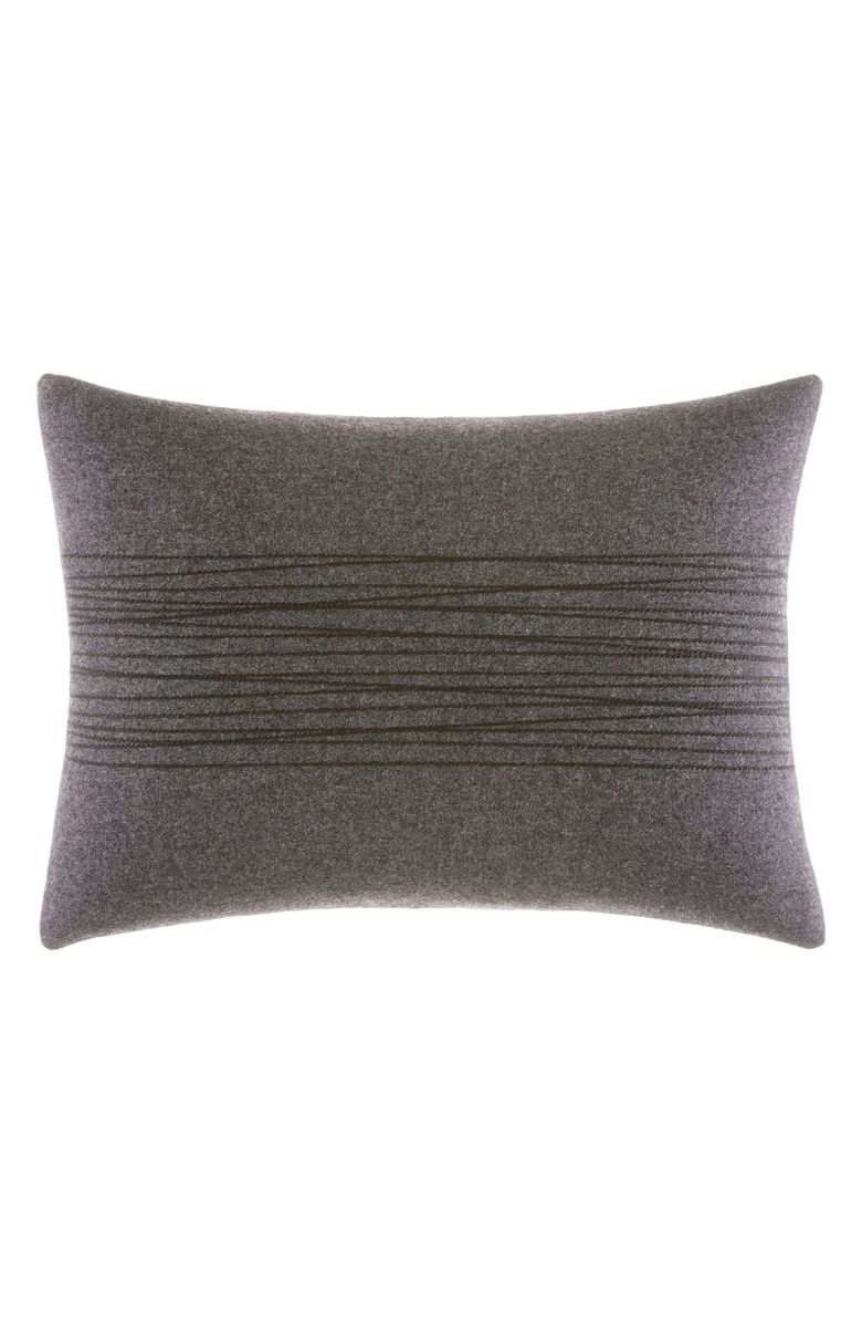 Vera Wang Burnished Quartz Thick Stitch Accent Pillow