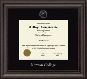 kenyon college diploma frame college diploma moldings and woods kenyon college diploma frame