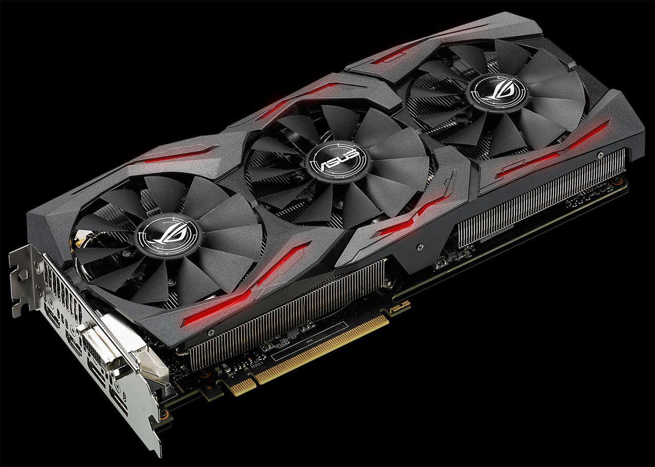 Asus Announces The Rog Strix Geforce Gtx 1080 Graphic Card Asus Nvidia