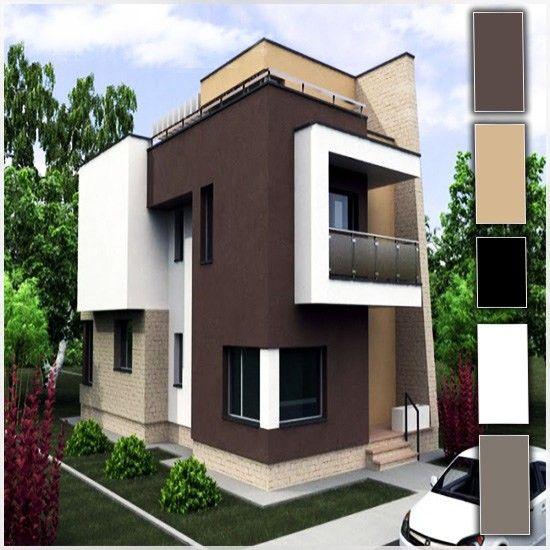 Colores para pintar casas exterior 3 casa pinterest - Pintar exterior casa ...