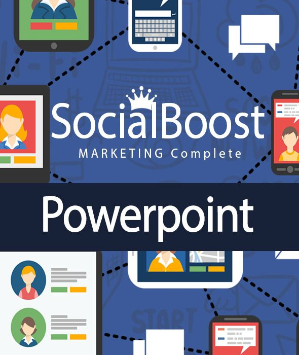 Facebook Marketing Powerpoint Complete Powerpoint Templates