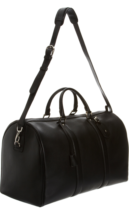 Barneys New York 50 cm Leather Duffel