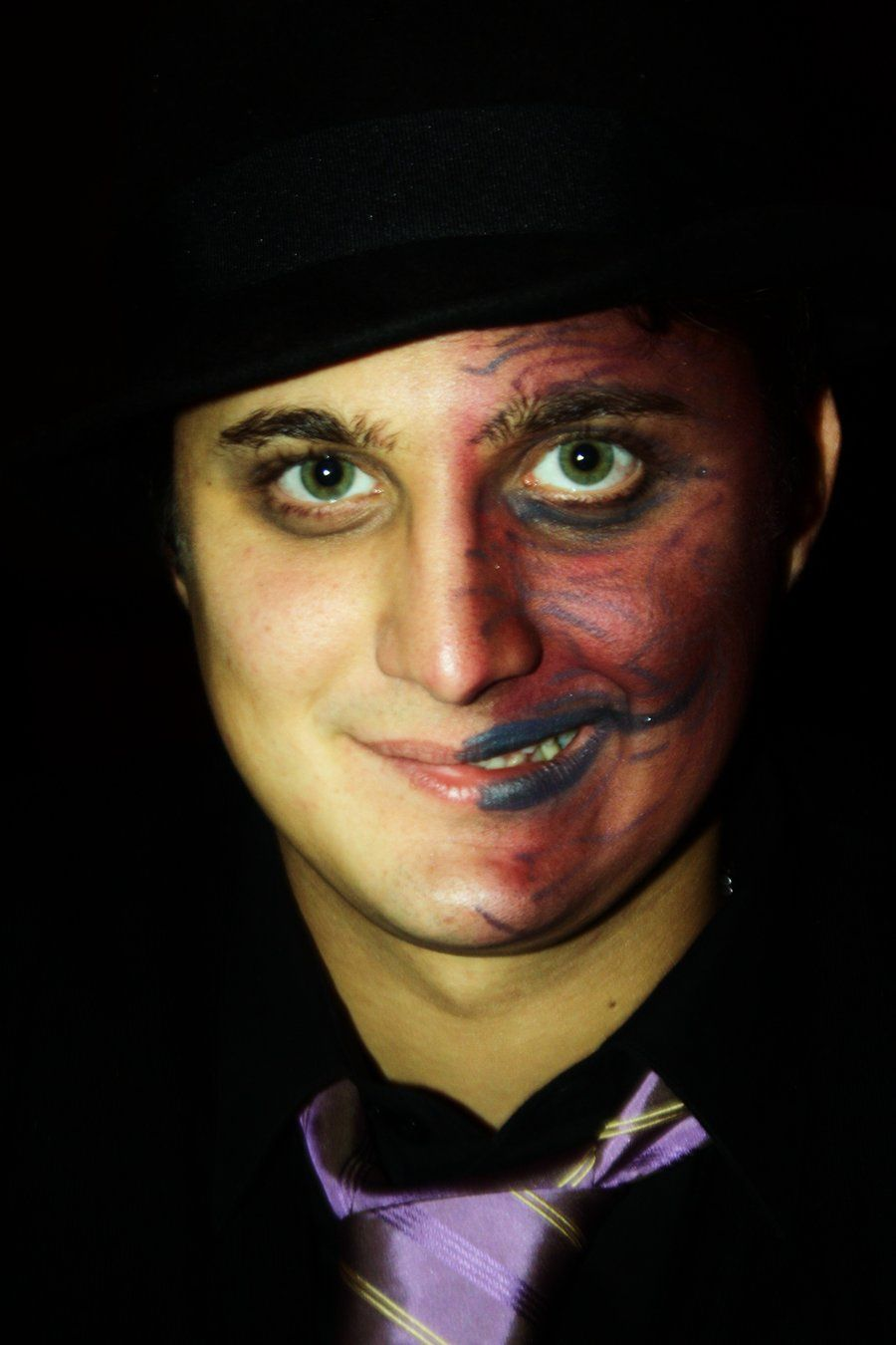 Two Face From Gotham City By Baciodistella On Deviantart