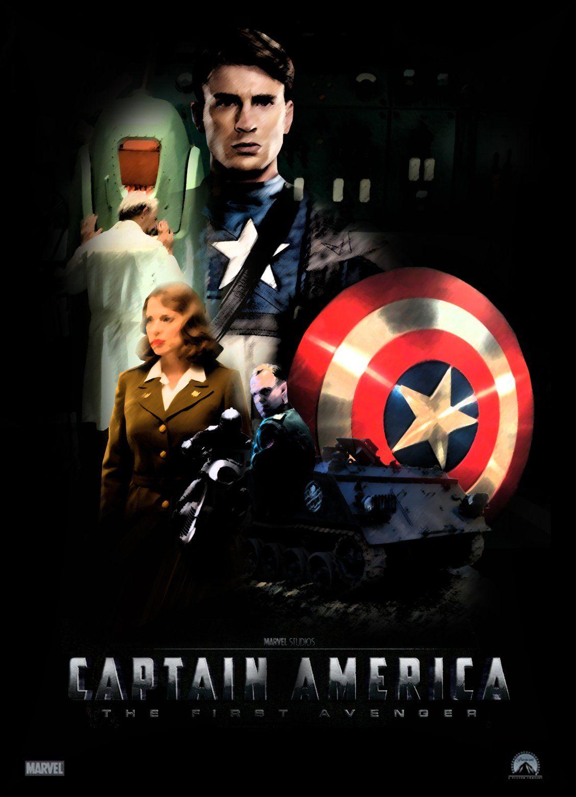 Capitan America El Primer Vengador Valor Y Nobleza Steve Rogers Chris Evans