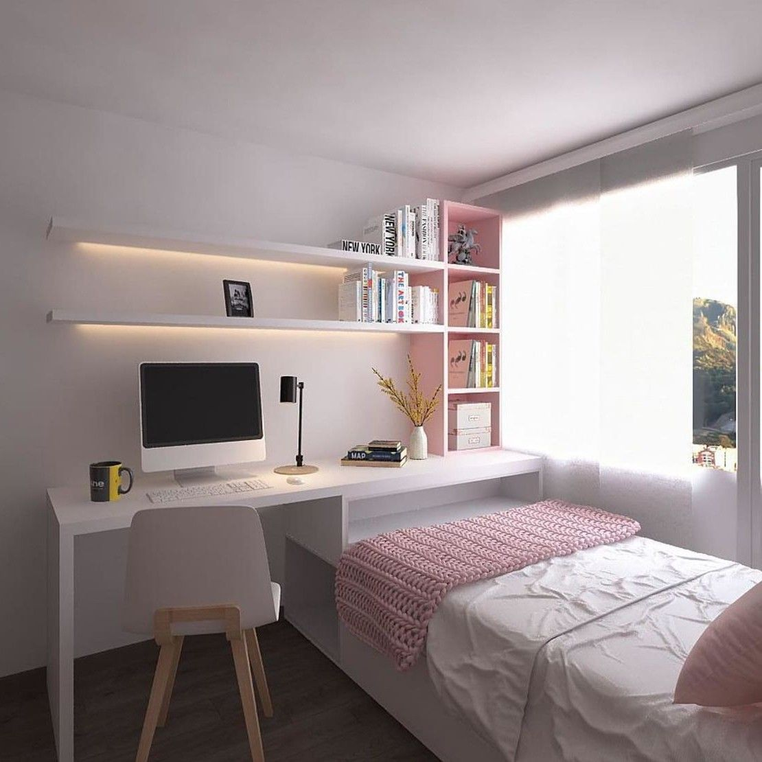 Pin By Huong Trieuthu On Art Tiny Bedroom Design Small Room Design Bedroom Small Room Bedroom