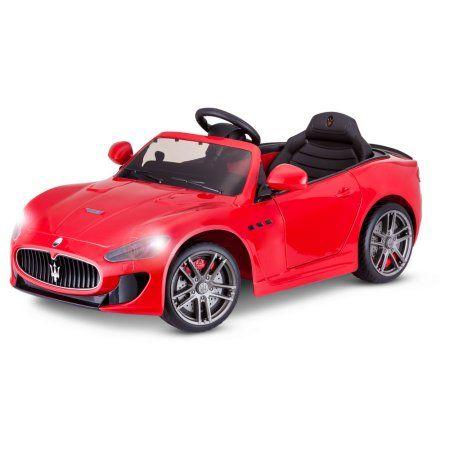 6-volt maserati gran turismo ride-on toy carkid trax, multiple