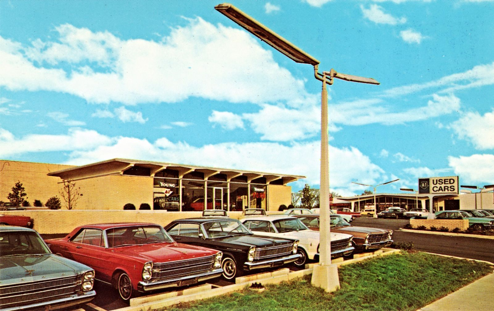 Ford Dealerships In Nc >> Pin On Car Dealerships Period Color Photos