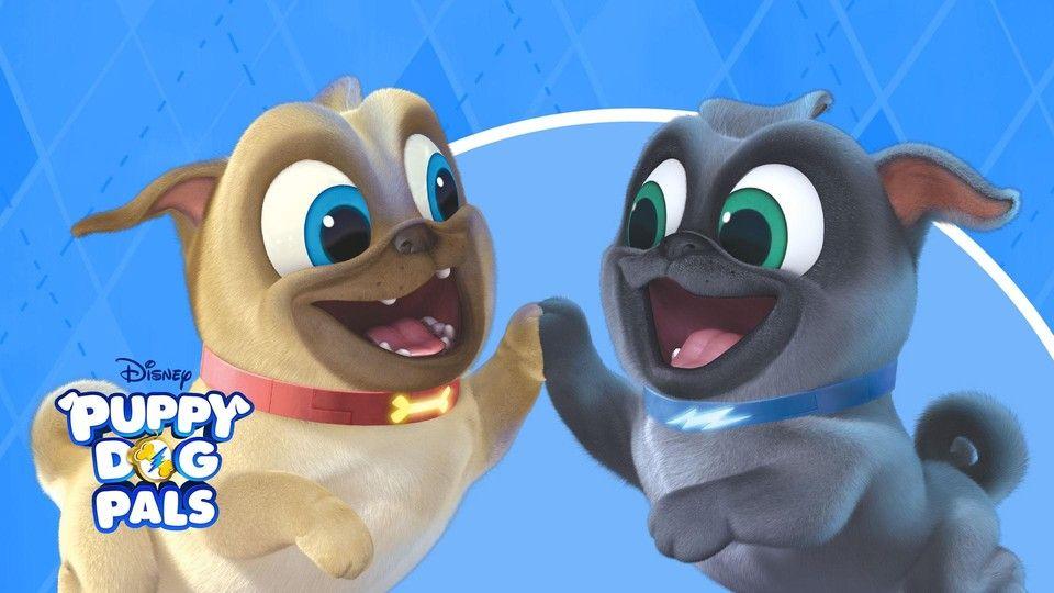 Watch Puppy Dog Pals Tv Show Disney Junior On Disneynow Dogs