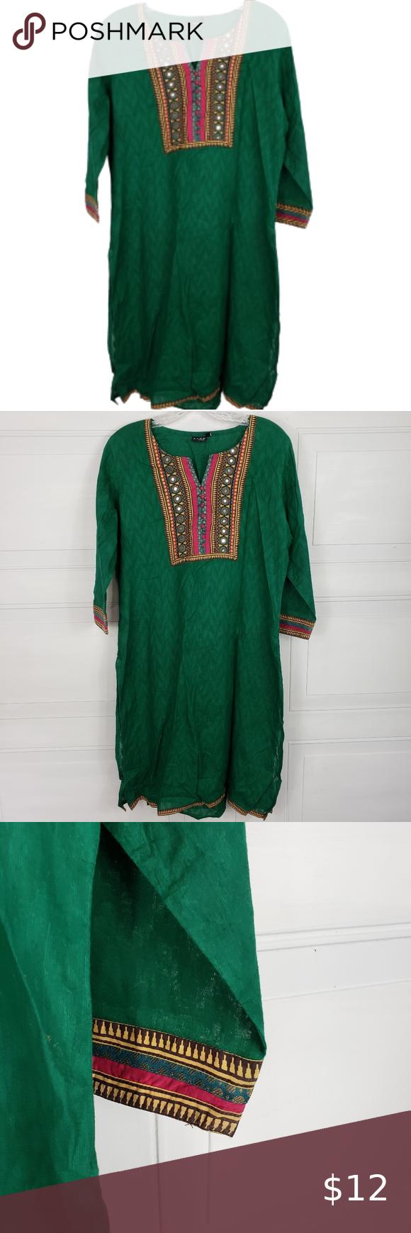 20/$20 Stop Everywear Dashiki Embroidered Tunic Stop Everywear ...