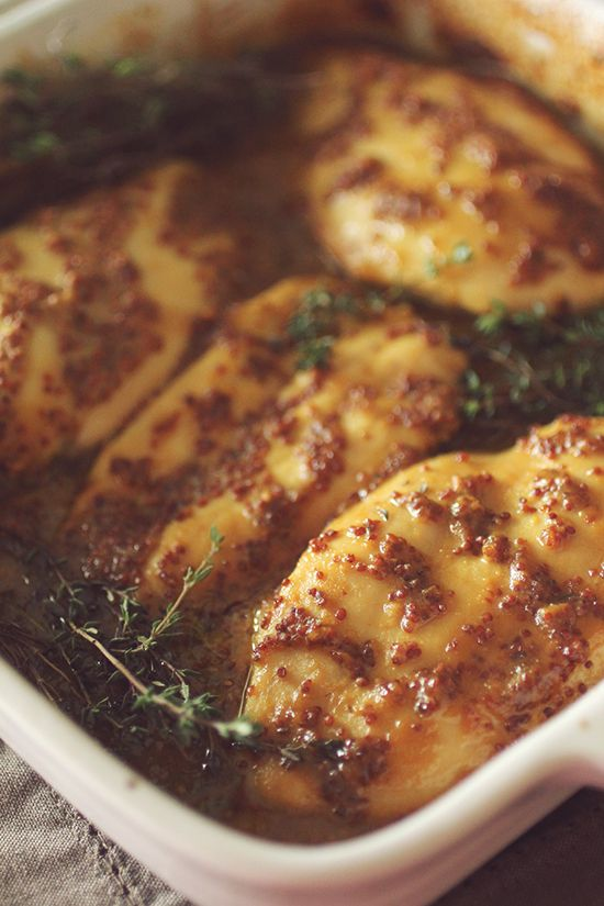 Clean Eating Honey Mustard Baked Chicken Tasty And Healthy Recipes