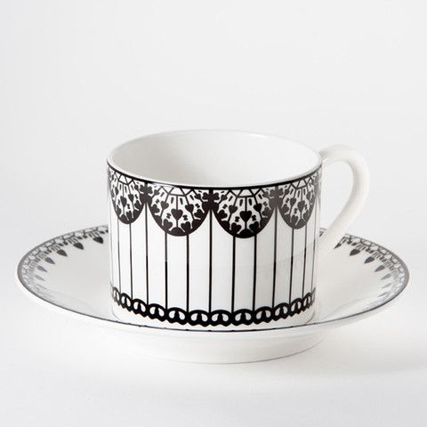 Perfect Inspired By The Beautiful Paper Kite Butterfly Of Malaysia, This Striking  Cup And Saucer Makes A Statement While Offering The Quality Of Fine Bone  China.