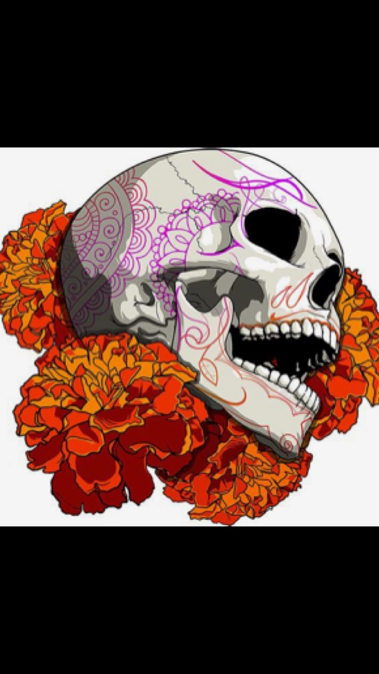 19b9c8f94 Pin by koko waite on SKULL LOVE in 2019 | Skull art, Skull painting ...