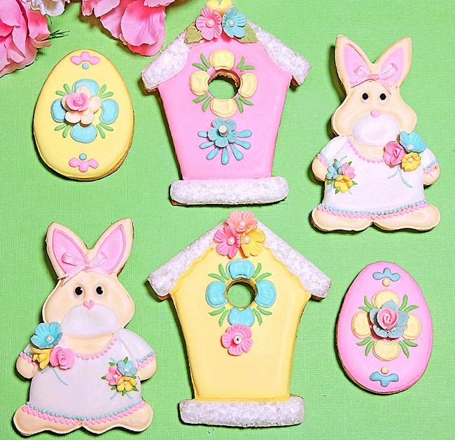 Polly & Molly Easter Cookies