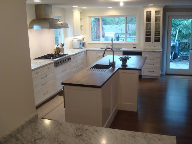 Cabinets Cornerstone Cabinetry Painted Bm Simply White Hardware